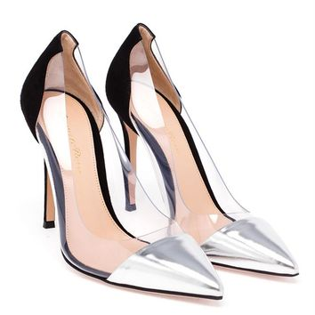 GIANVITO ROSSI | Plexi Pumps | brownsfashion.com | The Finest Edit of Luxury Fashion | Clothes, Shoes, Bags and Accessories for Men & Women