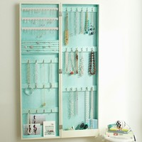 Chloe Wall Mirror Jewelry Storage