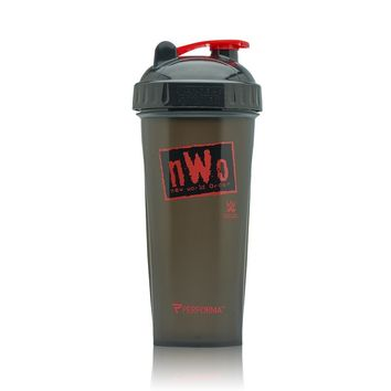 PerfectShaker Bottle - WWE DX, John Cena, nWo Wolfpack, Bret Hart, Ric Flair, Macho Man, John Cena & More! Blender & Mixer With Actionrod Mixing Technology, Dishwasher Safe and Shatter Proof