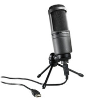 Audio-Technica AT2020USB Condenser Microphone