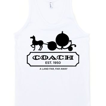 Pumpkin Coach Tank Top