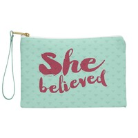 Allyson Johnson She Believed Pouch