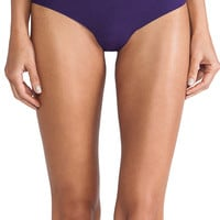 Commando Cotton Thong in Purple
