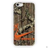 Nike Shoot It Browning Deer Camo For iPhone 6 / 6 Plus Case