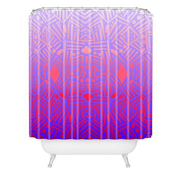 Jacqueline Maldonado Bali Ombre Shower Curtain