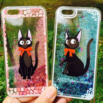 Super Cute Bling Bling Cat Case for iPhone
