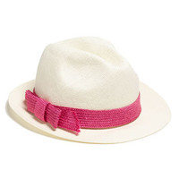 kate spade new york straw fedora | Nordstrom