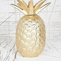 Pineapple Lamp in Gold - Urban Outfitters