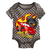 Lightning McQueen Disney Cuddly Bodysuit for Baby | Disney Store