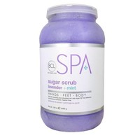 BCL Spa Sugar Scrub Lavender + Mint 128oz