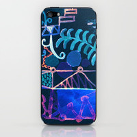 magic city iPhone & iPod Skin by Marianna Tankelevich