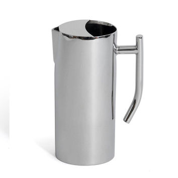 64 oz 4 1/8 x 9 1/4 inch Empire Collection Water Pitcher 64 oz with Ice Guard