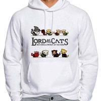The Lord Of The Cats The Furrlowship Of The Ring 623 Man Hoodie and Woman Hoodie