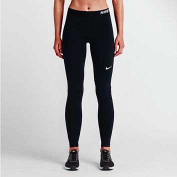 Nike Pro Training Tights Spandex Dri-FIT Compression NWT Black 725477-010