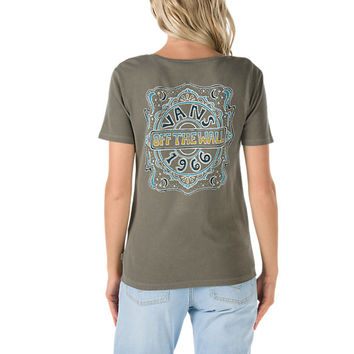 Psychedelic Night T-Shirt | Shop Womens Tees At Vans