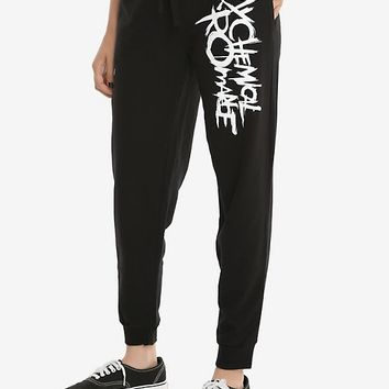 My Chemical Romance Logo Girls Jogger Pants