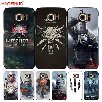 HAMEINUO The Witcher Wild Hunt cell phone case cover for Samsung Galaxy S7 edge PLUS S8 S6 S5 S4 S3 MINI
