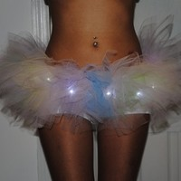 Rainbow Led Tutu Skirt