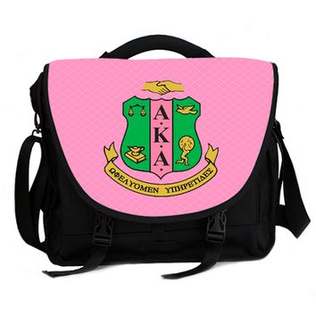 Alpha Kappa Alpha Laptop bag with Sorority Crest