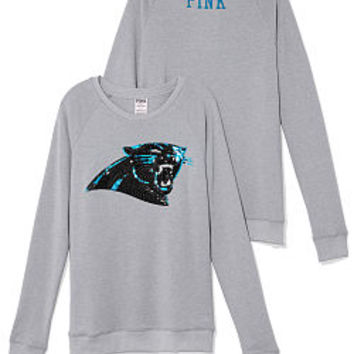 Carolina Panthers Bling Crew - PINK - Victoria's Secret
