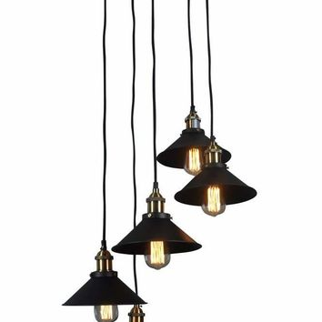 RENATA CIRCULAR 5 LIGHT PENDANT LAMP