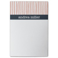 Vertical Pink Stripes Pattern Post-it® Notes