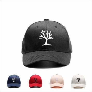 High Quality Fashion Embroidered Tree Dad or Mom Cap Baseball Cap Adjustable