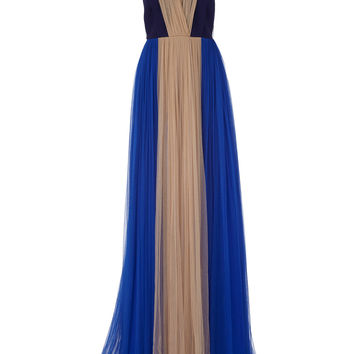 Color-Block Tulle Gown | Moda Operandi