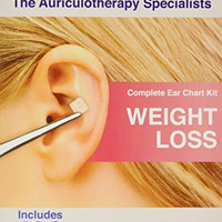 Weight Loss Ear Seed Kit- 120 Vaccaria Ear Seeds, Stainless Steel Tweezer by EarSeeds.com