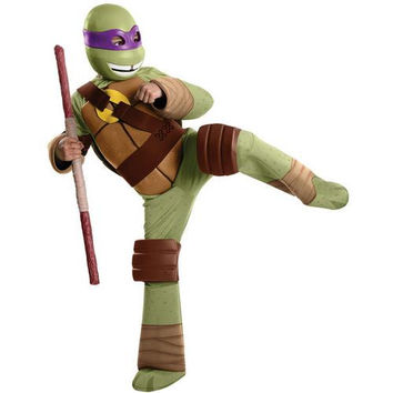 Boy's Costume: Teenage Ninja Mutant Turtles Donatello Deluxe | Medium