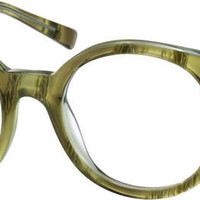 Green Round Eyeglasses #44124 | Zenni Optical Eyeglasses