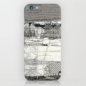 Winter landscape iPhone & iPod Case by Bozena Wojtaszek