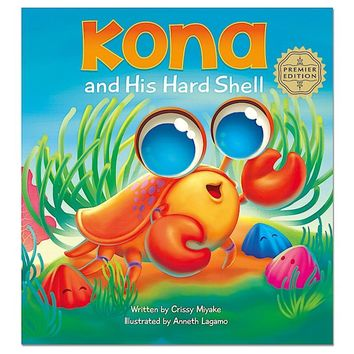 """""""Kona and His Hard Shell"""" Children's Book (Hardcover)"""