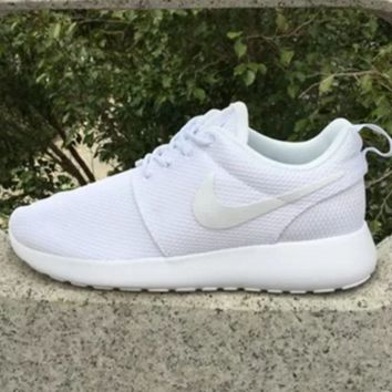 """NIKE"" Trending Fashion Casual Sports Shoes Pure White"
