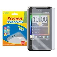 Amzer Super Clear Screen Protector Shield for HTC HD Mini with Cleaning Cloth