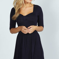 Maisy Bow Skater Dress