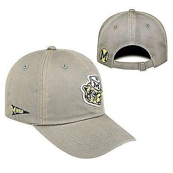 Licensed Michigan Wolverines Official NCAA Vault Vintage Crew Hat by Top of the World KO_19_1