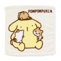Pom Pom Purin Untwisted Thread Hand Towel Always Together Sanrio Japan - VeryGoods.JP