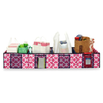 The Macbeth Collection Trunk Shopping Organizer in Pink Scout