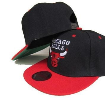 PEAPON Chicago Bulls NBA 9FIFTY Caps Red-Black