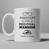 The Office Dunder Mifflin - Assistant to the Regional Manager Mug, Tea Mug, Coffee Mug