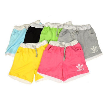 ADIDAS Fashion Drawstring Sport Gym Casual Beach Shorts