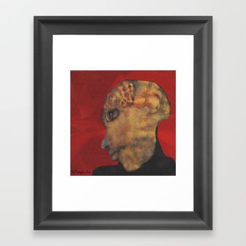 A single man Framed Art Print by artdestinypsd