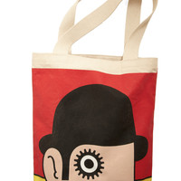 Bookshelf Bandit Tote in Anthony | Mod Retro Vintage Bags | ModCloth.com