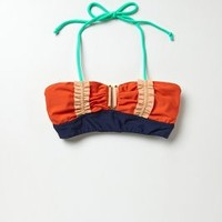 Lauren Moffatt Rally Bustier Bandeau Orange L Wall Decor