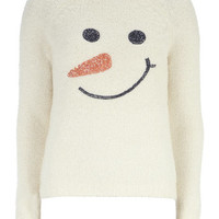 Snowman Face Jumper
