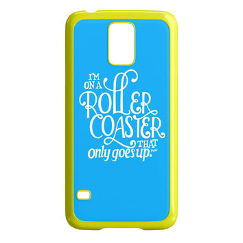 the fault in our stars quotes Samsung Galaxy S5 Case