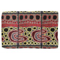 African Tribal Abstract Art Kitchen Towel
