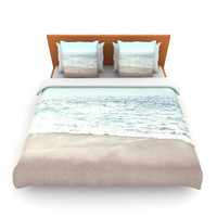 "Monika Strigel ""The Sea"" Blue Coastal Lightweight Duvet Cover"
