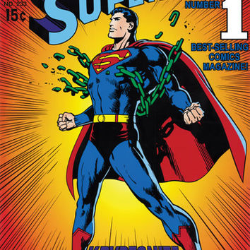 Superman Serial Comics Poster